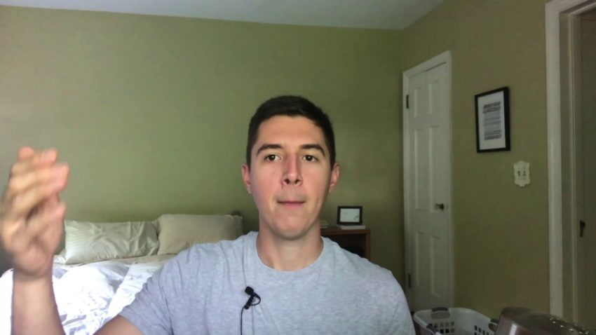 Screenshot from Improve Your Handwriting video